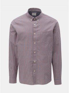 Modro-červená kostkovaná košile Burton Menswear London