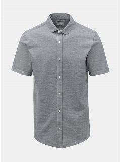 Modrá žíhaná slim fit košile ONLY & SONS Cuton