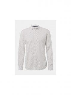 Bílá pánská vzorovaná košile Tom Tailor Denim