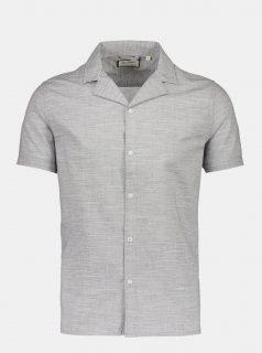 Šedá žíhaná košile Shine Original