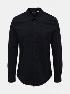 Tmavě modrá slim fit košile ONLY & SONS Alfredo