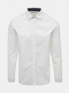 Bílá slim fit košile Selected Homme Mark