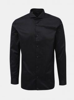 Černá regular fit košile Jack & Jones Sel-Pelle