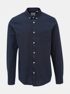 Tmavě modrá slim fit košile ONLY & SONS Alvaro