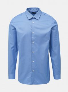 Modrá slim fit košile Selected Homme Pen-Pelle