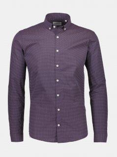 Fialová vzorovaná košile Lindbergh