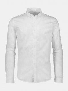 Bílá puntíkovaná košile Lindbergh
