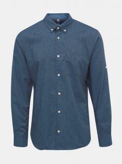 Modrá košile Jack & Jones Lunddahl
