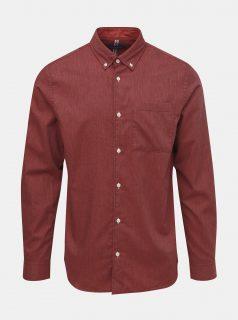 Červená košile Jack & Jones Lunddahl
