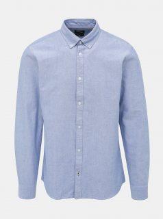 Světle modrá slim fit košile ONLY & SONS Oliver