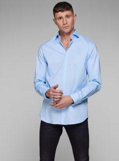 Světle modrá košile Jack & Jones Comfort