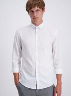 Bílá slim fit košile Lindbergh
