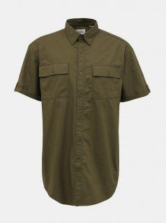 Khaki košile Jack & Jones Marc