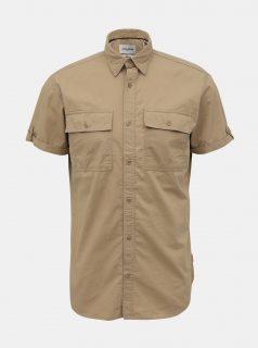 Světle hnědá slim fit košile Jack & Jones Marc