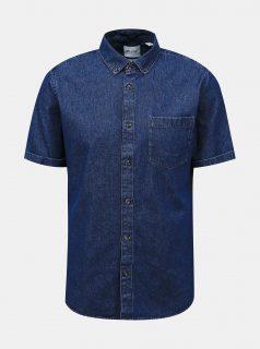 Tmavě modrá džínová košile ONLY & SONS