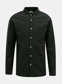 Tmavě zelená košile Selected Homme Collect