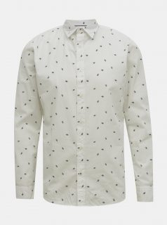 Bílá vzorovaná košile Jack & Jones Madison