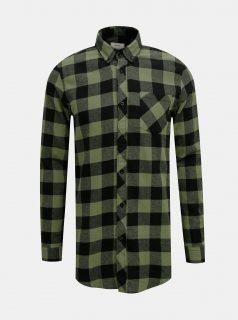 Zelená kostkovaná košile Redefined Rebel