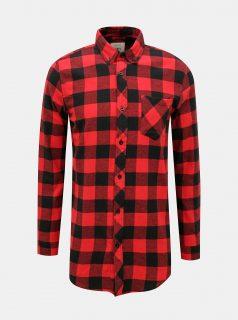 Červená kostkovaná košile Redefined Rebel