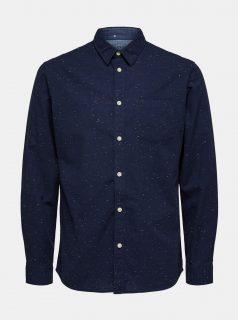Tmavě modrá košile Selected Homme Kayden