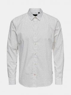 Bílá košile ONLY & SONS Bart