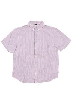 Element STANFORD BLUE PINK košile pro muže krátký rukáv – modrá
