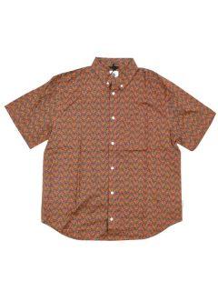Element GLASTONBURY GREEN MAPLE košile pro muže krátký rukáv – barevné