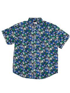 Element GLASTONBURY GREEN GARDEN košile pro muže krátký rukáv – barevné