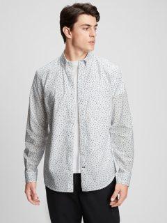 Bílá pánská košile standard poplin