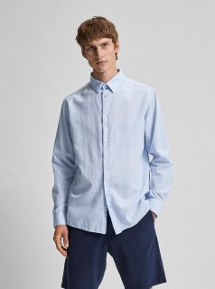 Světle modrá košile Selected Homme Regnew