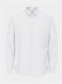 Bílá košile Selected Homme Regnew