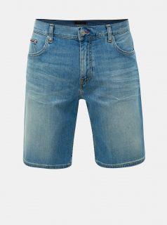Modré pánské džínové kraťasy Tommy Hilfiger Brooklyn