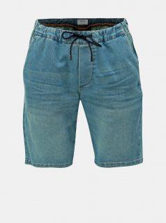 Modré džínové kraťasy ONLY & SONS Rod