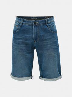 Modré pánské džínové slim fit kraťasy Tom Tailor