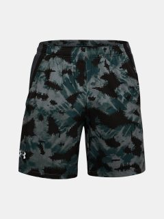 "Kraťasy Under Armour UA LAUNCH SW 7"" PRINTED SHORT – modrá"