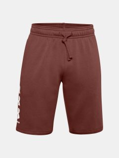 Kraťasy Under Armour UA Rival Flc Multilogo Short – červená