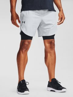 Kraťasy Under Armour UA Stretch-Woven Shorts – šedá