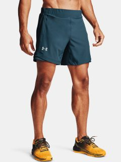"Modré kraťasy Under Armour QLIFIER SPEEDPOCKET 7"" SHORT"