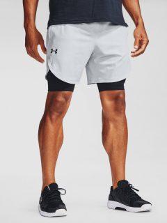 Kraťasy Under Armour UA Stretch-Woven Shorts – bílá