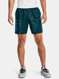 Kraťasy Under Armour Woven Emboss Shorts – modrá