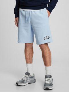 "Modré pánské kraťasy GAP Logo 9 shorts in fleece """