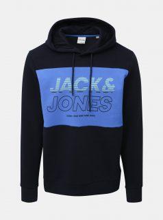 Modrá mikina Jack & Jones Jonah