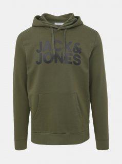 Zelená mikina Jack & Jones Corp