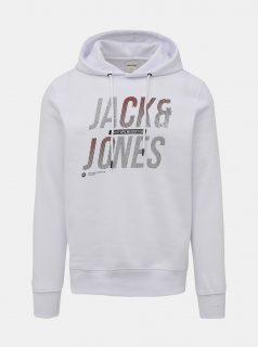 Bílá mikina Jack & Jones Booster