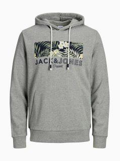 Šedá mikina Jack & Jones Tropic