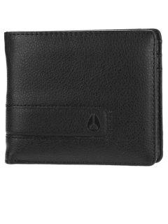 Nixon SHOWTIME BI-FOLD ALLBLACK pánská značková peněženka – černá