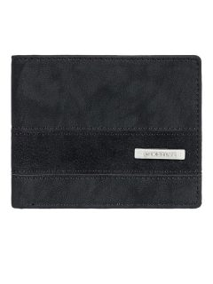 Quiksilver ARCH SUPPLIER BLACK BLACK pánská značková peněženka – černá