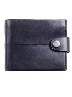Rip Curl SNAP CLIP RFID 2 IN  black pánská značková peněženka – černá