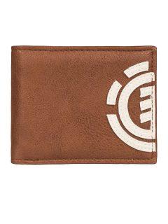 Element DAILY Tortoise Shell pánská značková peněženka – hnědá
