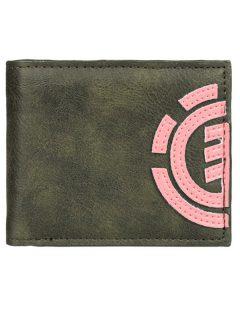 Element DAILY forest night pánská značková peněženka – zelená